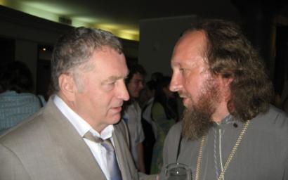 Игорь Собко и В.В.Жириновский на юбилее.JPG